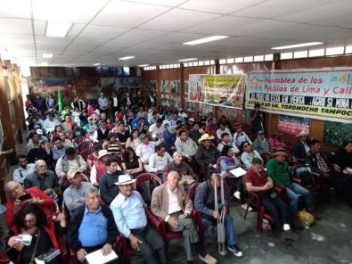 Cumbre de los Pueblos: La criminalización de la protesta es una política de Estado