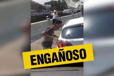 Fake News: Supuesto video de asalto a mano armada en Arequipa es robo en Brasil