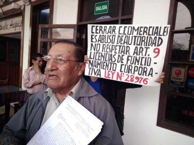 Comerciantes se quejan porque MPA no quiere darles licencias corporativas