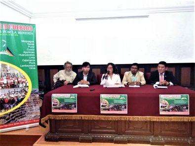 Cumbre de los Pueblos Afectados por la Minería se realizará junto con PERUMIN