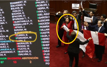 Congresista Foronda niega haber votado a favor de primo de Olaechea para TC