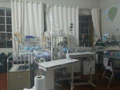 Hacinamiento y equipos obsoletos en Neonatología del hospital Goyeneche