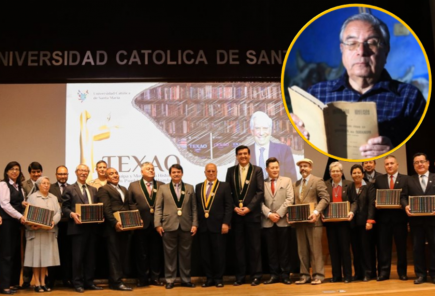 Texao: obra de Juan Guillermo Carpio Muñoz llegará a 20 mil estudiantes