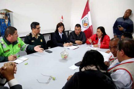 Tía María: Ministra instala comisión permanente para evitar pérdida de año escolar