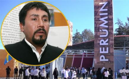 Cáceres Llica no asistirá a PERUMIN porque su tema de exposición está inconcluso