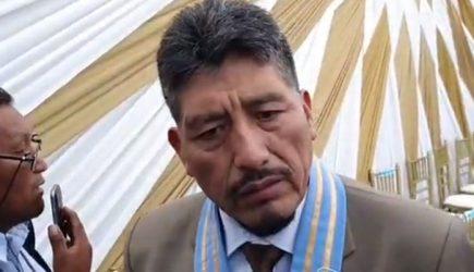 Alcalde de Mariano Melgar fue detenido esta madrugada por violencia familiar