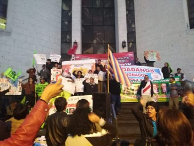 VIDEO: ciudadanos en Arequipa celebran el cierre del Congreso anunciado por Martín Vizcarra