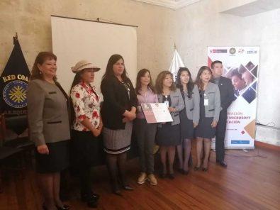 COAR Arequipa firma alianza con Microsoft para innovar en educación