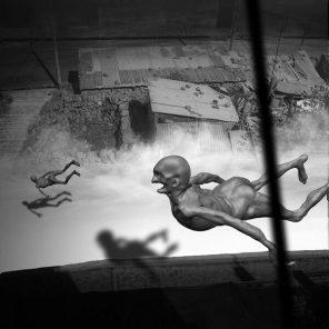 """Narcolepsia: """"Los Viajeros"""" de Jaime Mamani (FOTOS)"""