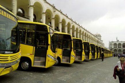 Arequipa: Firman pacto para agilizar implementación de Sistema de Transporte (SIT)