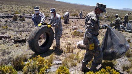 Salinas y Aguada Blanca: Recogieron más de 20 toneladas de basura
