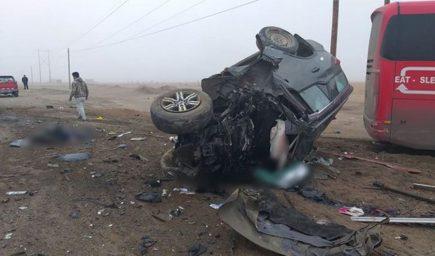 Camaná: Accidente con ocho muertos en la Panamericana fue provocado por densa neblina