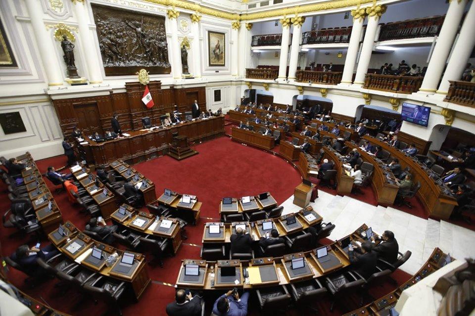 Congreso Perú disolución vacancia Martin vizcarra