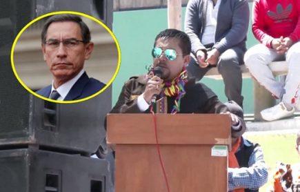 Elmer Cáceres Llica ignora al presidente Martín Vizcarra y a la Fiscalía