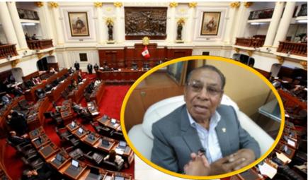 Justiniano Apaza califica de «repartija asquerosa» elección de magistrados del TC