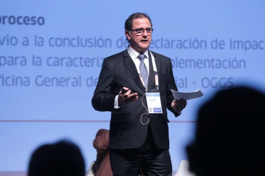 Francisco Ísmodes, ministro de Energía y Minas, expuso en Perumin sobre el crecimiento del cobre en el país.