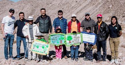 «Hilando verde» es el proyecto de arborización que lanzó empresa de hilados