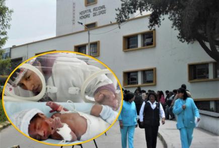 Arequipa: Mueren 63 recién nacidos este año en el hospital Honorio Delgado