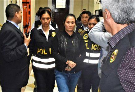TC confirma para este miércoles audiencia sobre libertad de Keiko Fujimori