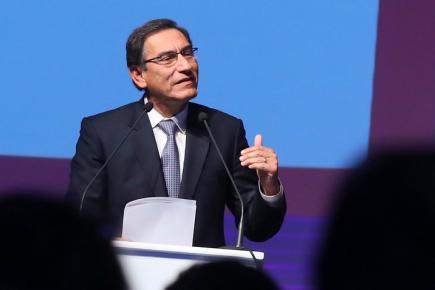 PERUMIN 34: Presidente Vizcarra anuncia comisión para mejorar Ley de Minería