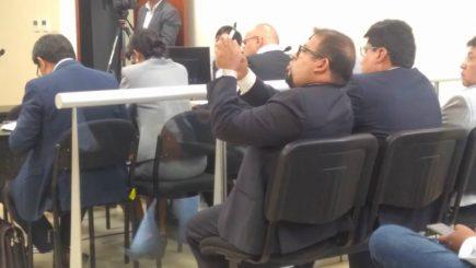 Fiscalía pide 10 años de prisión para Omar Candia en nuevo juicio por compra de cámaras