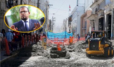 Arequipa: MPA no tiene proyectos para ejecutar  S/ 57 millones en obras
