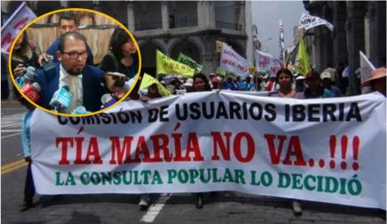 """Omar Candia exhorta a que movilizaciones de esta semana """"no enluten la ciudad"""""""