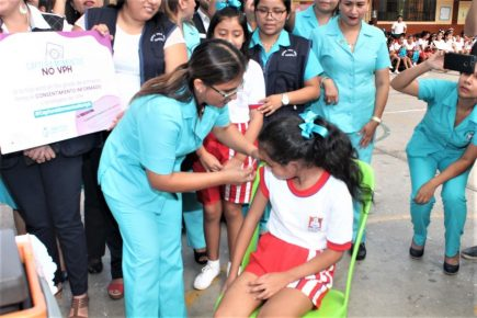 Arequipa: 9 mil menores recibirán segunda vacuna contra papiloma