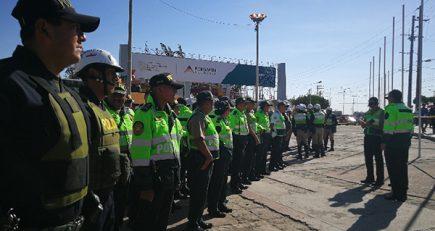 Perumin inicia: 2 mil policías resguardan evento en pleno conflicto social por Tía María