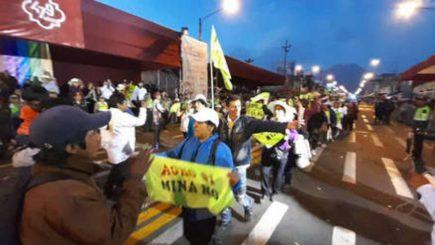 Tía María: MPA no denunciará a protestantes que irrumpieron en corso
