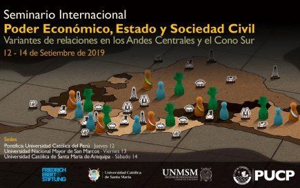 Seminario Internacional: «Poder Económico, Estado y Sociedad Civil»