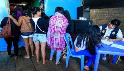Camaná concentra el 80% de casos de trata de personas en la región