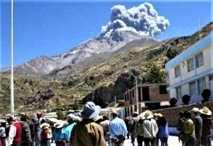 Volcán Ubinas: Otorgarán 250 viviendas temporales a damnificados de erupción