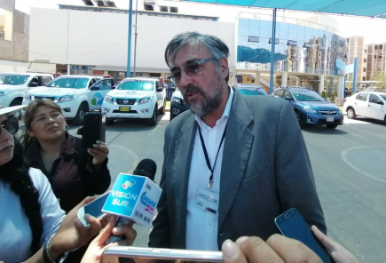 Perumin: viceministro de Gobernanza analiza denunciar a expositor
