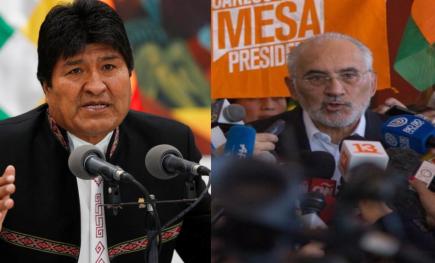 ACT Bolivia: Tribunal Supremo Electoral dio como ganador a Evo Morales