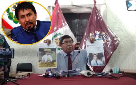 Consejero Hancco denuncia a Cáceres Llica por campaña de desprestigio