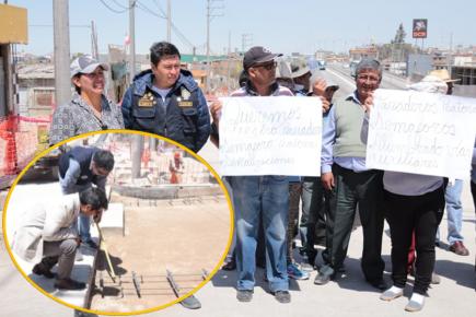 Alcalde de Yanahuara pide detención de obras en Variante de Uchumayo
