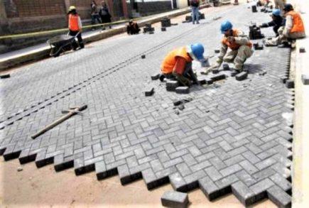 Se esfumaron 91 mil adoquines de obra de la Municipalidad Provincial de Arequipa
