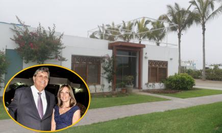 Nacional: intervienen la casa de playa de expareja de Alan García en Asia