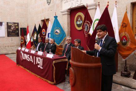 UNSA: proyectos y actividades para el aniversario, rumbo al bicentenario
