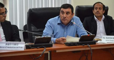 Consejo Regional interpela al gerente de Autodema, Marcelo Córdova (en desarrollo)