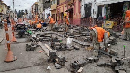 Arequipa: Volverán a sacar adoquines de Jerusalén – San Juan de Dios por fuga de agua