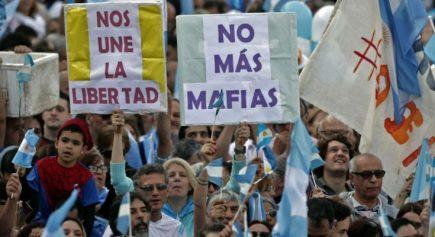 Crisis argentina y cambio de gobierno