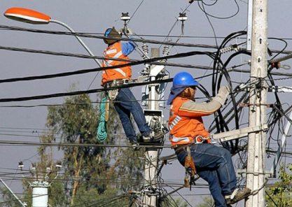 Corte de servicio eléctrico en 3 distritos de Arequipa y uno de Camaná, jueves 30