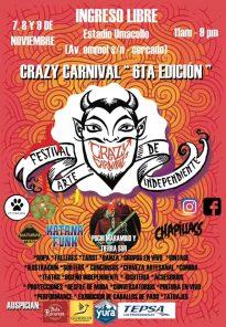 Crazy Carnival: 6ta edición del festival independiente artístico