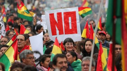 Bolivia: ¿Fraude electoral? Tensión por victoria de Evo Morales