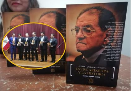 «Entre Arequipa y la historia»: homenaje a Eusebio Quiroz Paz Soldán