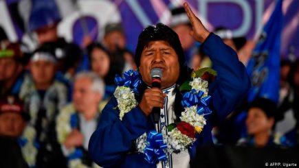 Bolivia: Evo Morales y Carlos Mesa irían a una inédita segunda vuelta electoral