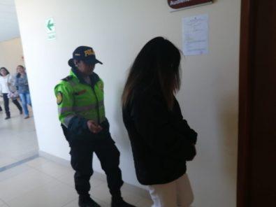 Exfuncionaria de Autodema es enviada a prisión por exigir S/500 a su asistente