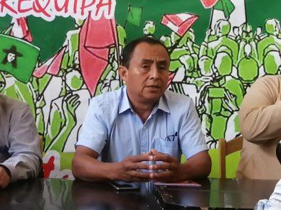 Gregorio Santos en Arequipa: la minería solo paga migajas en Cajamarca